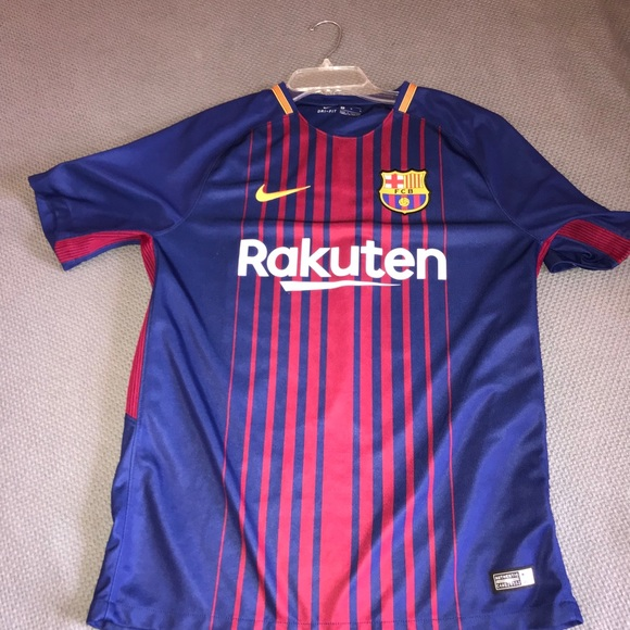 official photos 77f1f bf47c Nike authentic Messi jersey FC Barcelona